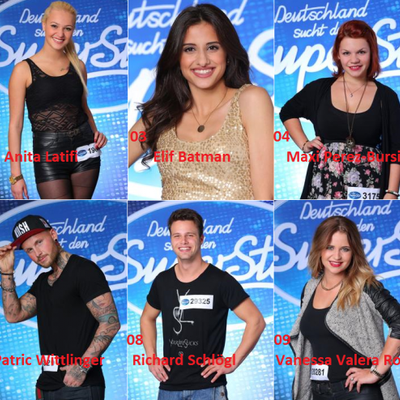 2.Liveshow bei Dsds 2014 01379-1001 + Endziffer Internet - Superstar Top 10