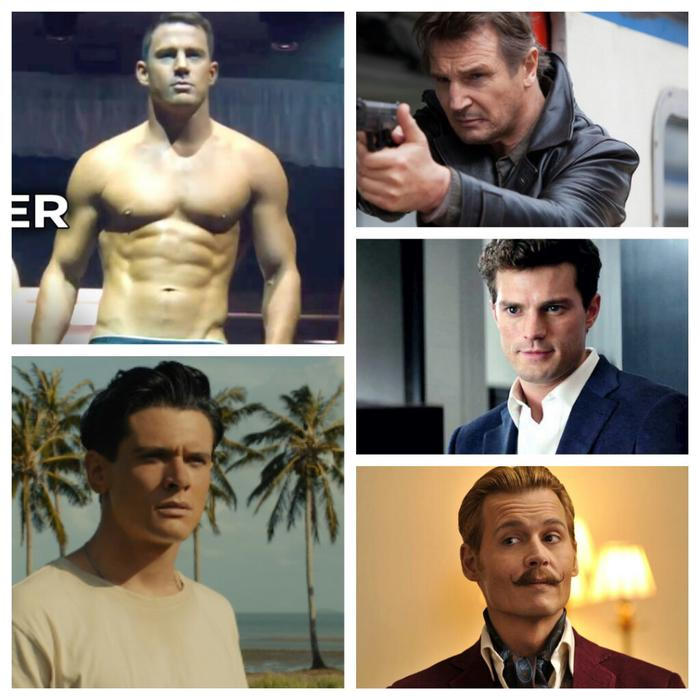 Hottest Male Movie Star 2015?