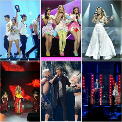 Beste/r Eurovision Song Contest Kandidat/in - Runde 1 // Gruppe 10