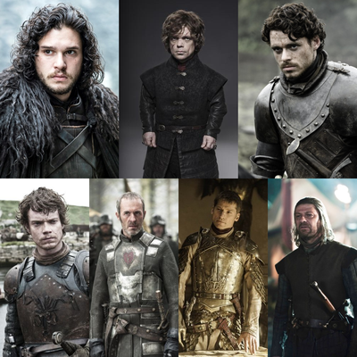 Top 14 - Game of Thrones (Männliche Gruppe)
