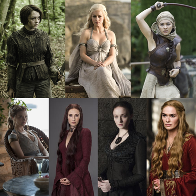 Top 14 - Game of Thrones (Weibliche Gruppe)