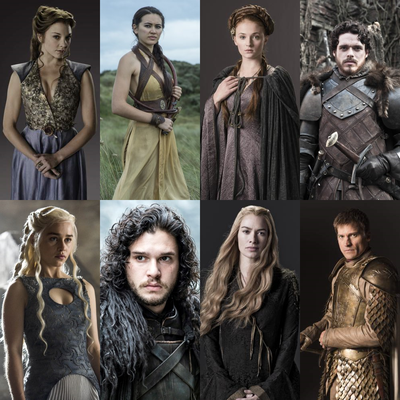 Top 8 - Game of Thrones Charakter