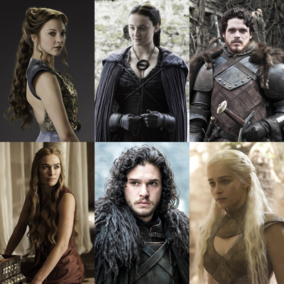Top 6 - Game of Thrones Charakter