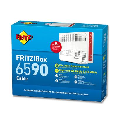teste den neuen kabelrouter fritz box 6590 cable. Black Bedroom Furniture Sets. Home Design Ideas