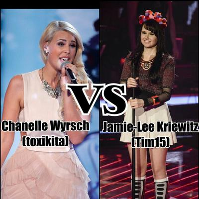 Opinionstar's The Voice of Germany 2018 // Cross-Battles: Jamie-Lee Kriwitz (Tim15) vs Chanelle Wyrsch (toxikita)