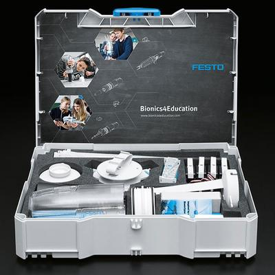 Entdecke die Festo Produkttest-Community: https://community.bionics4education.com!