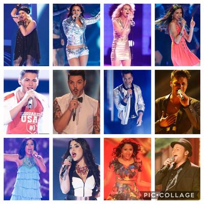 Opinionstar Dsds 2014 TOP 12 1 Mottoshow: Dance